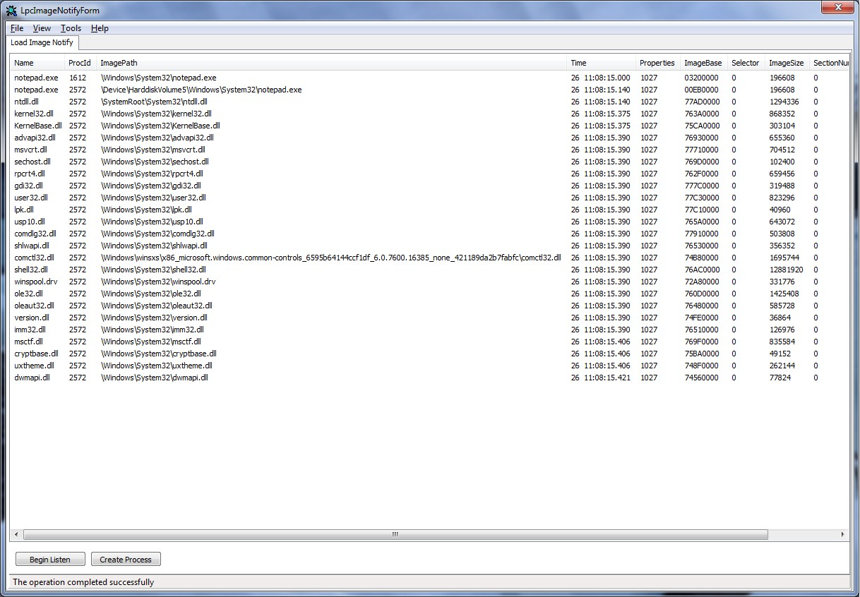 Нотификация user-mode приложения из ядра