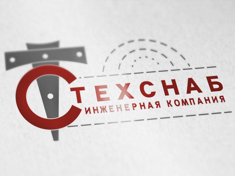 Разработка логотипа и фирм. стиля компании  ТЕХСНАБ фото f_4395b2106952da47.jpg