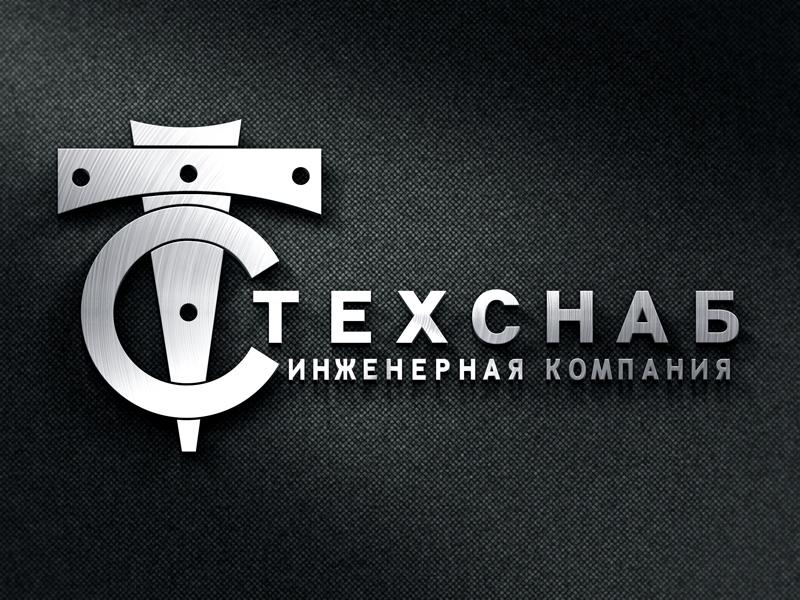 Разработка логотипа и фирм. стиля компании  ТЕХСНАБ фото f_6885b21068aac615.jpg