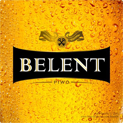 "Логотип для пива ""BELENT""."