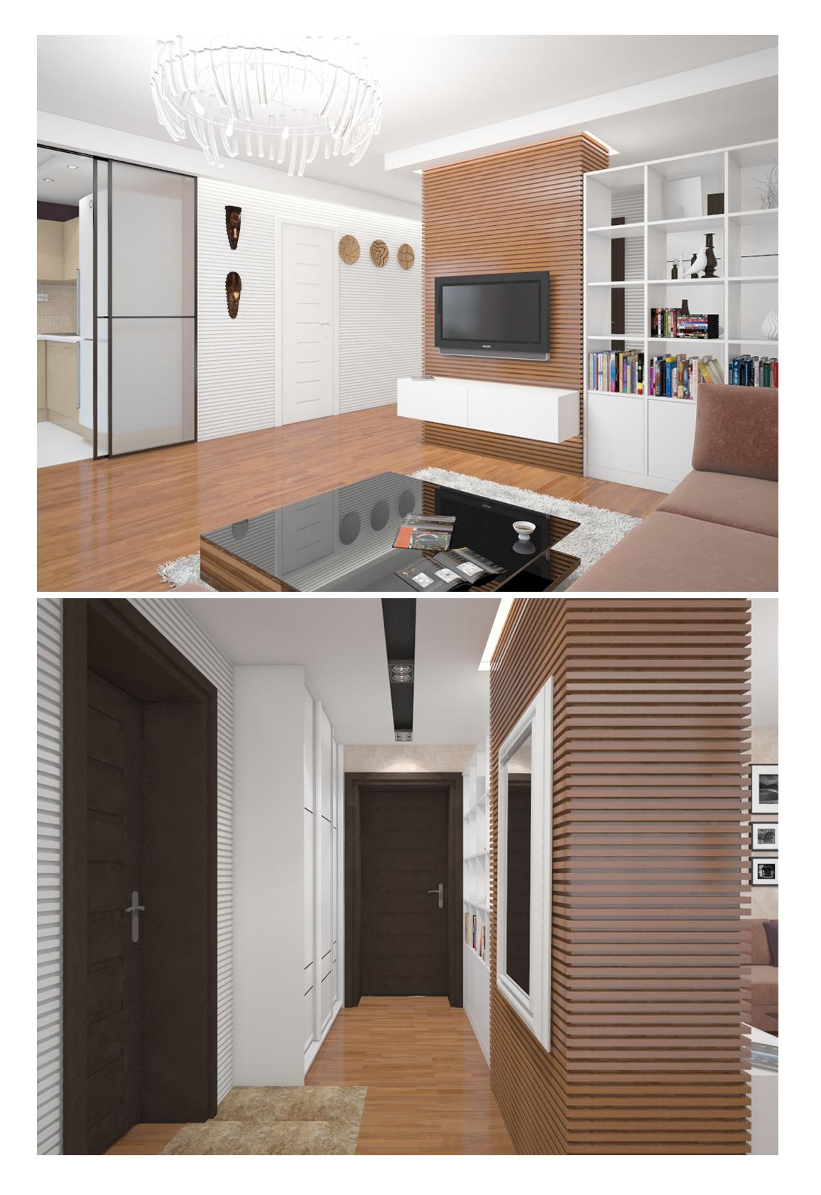 Интерьер квартиры в Уфе