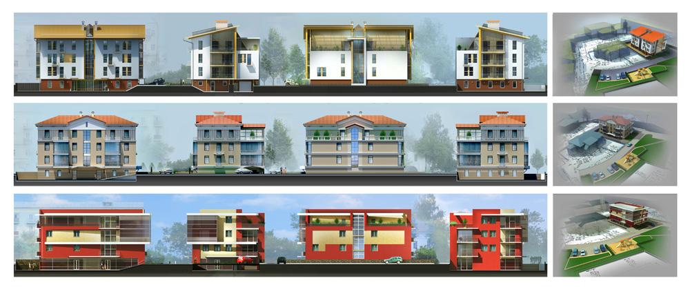 Эскизное предложение жилья