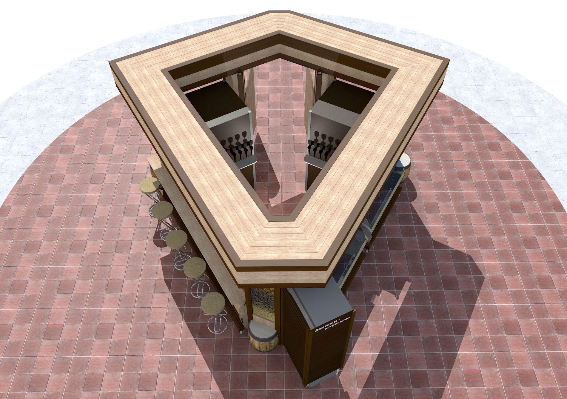 Дизайн молочного киоска фото f_0325992ea399fb7b.jpg