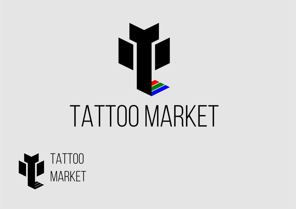 Редизайн логотипа магазина тату оборудования TattooMarket.ru фото f_0375c3c9f062b88c.jpg
