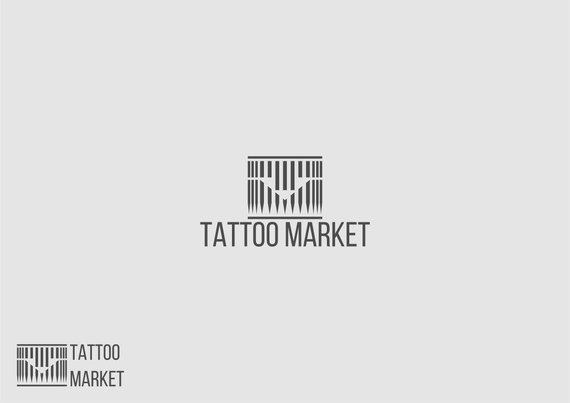 Редизайн логотипа магазина тату оборудования TattooMarket.ru фото f_1805c3dfce8d0d0f.jpg