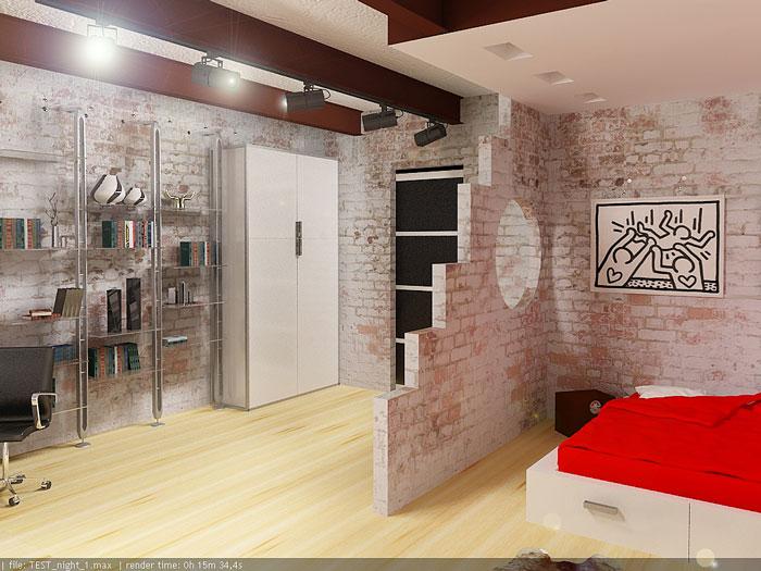 Д+В(спальня+кабинет)