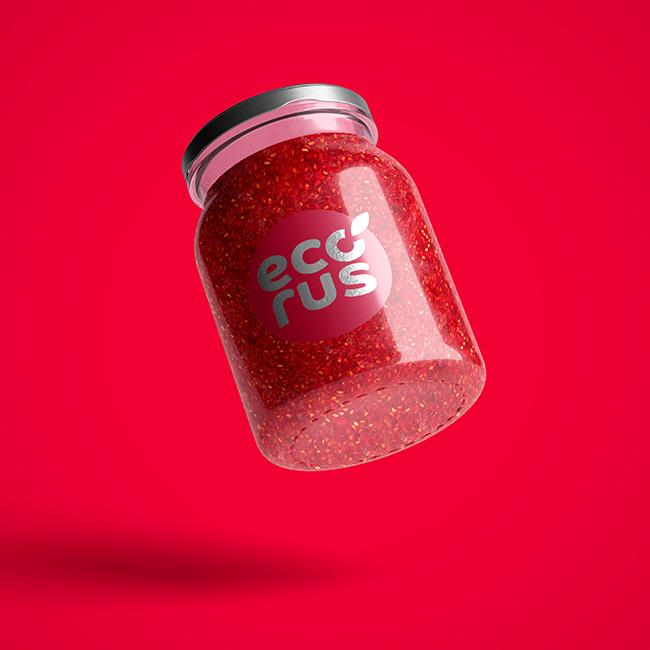 Логотип для поставщика продуктов питания из России в Китай фото f_0605eb56834a9f05.jpg