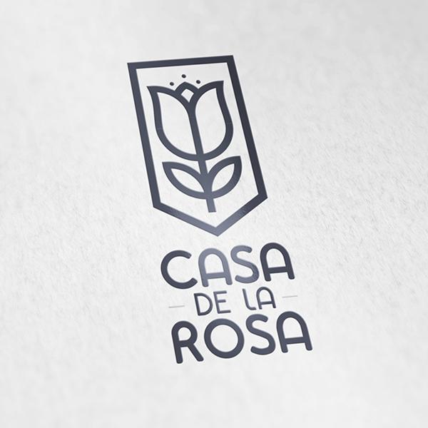 Логотип + Фирменный знак для элитного поселка Casa De La Rosa фото f_2005cd542b4b1c21.jpg