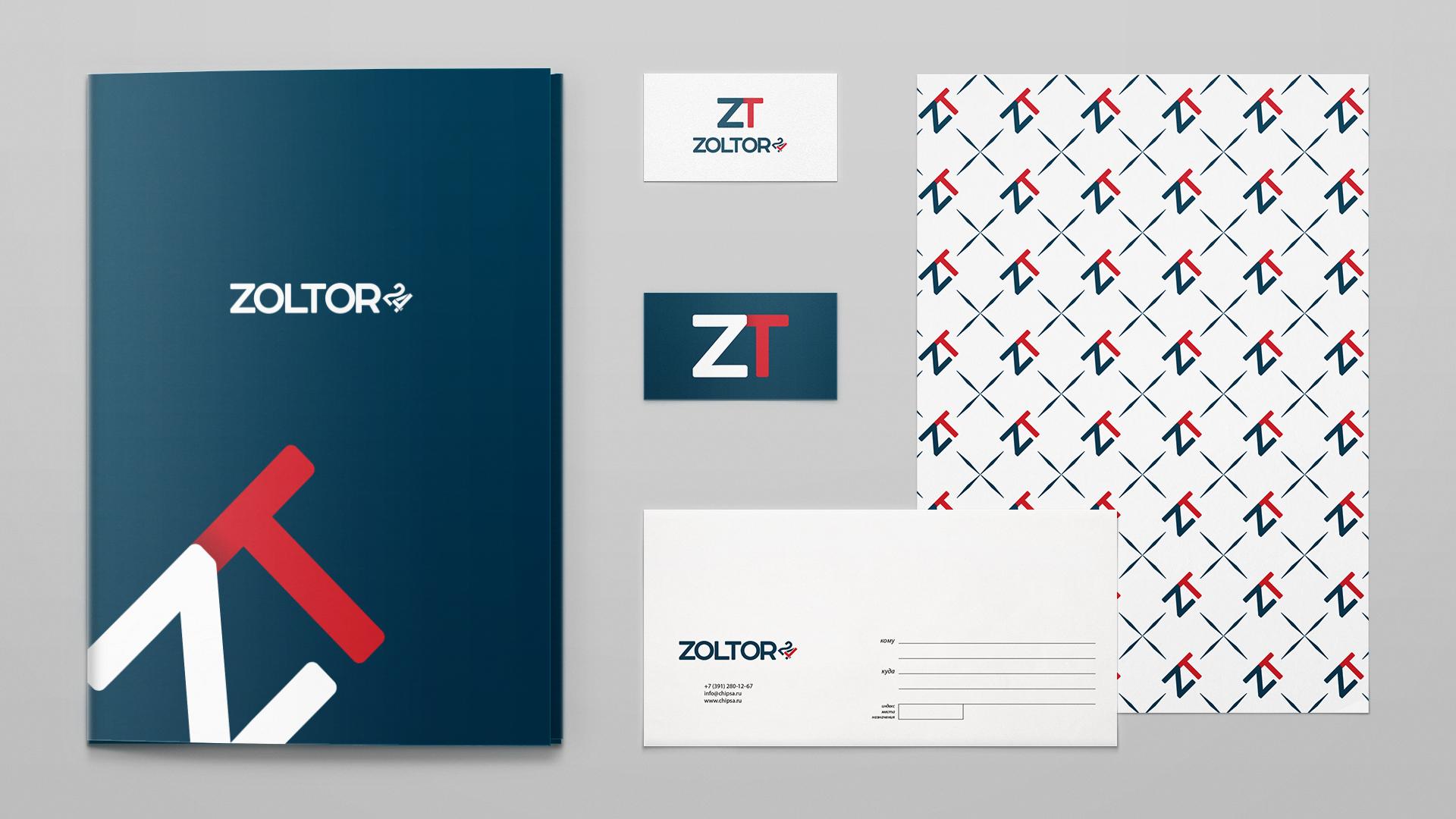 Логотип и фирменный стиль ZolTor24 фото f_2635c94e04d80554.jpg