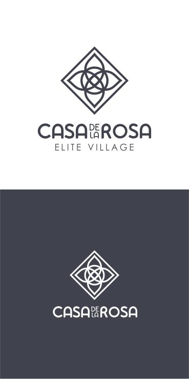Логотип + Фирменный знак для элитного поселка Casa De La Rosa фото f_6375cd542a662c24.jpg