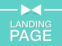 """Landing page """"под ключ"""" от  4 дней с уникальным дизайном...."""