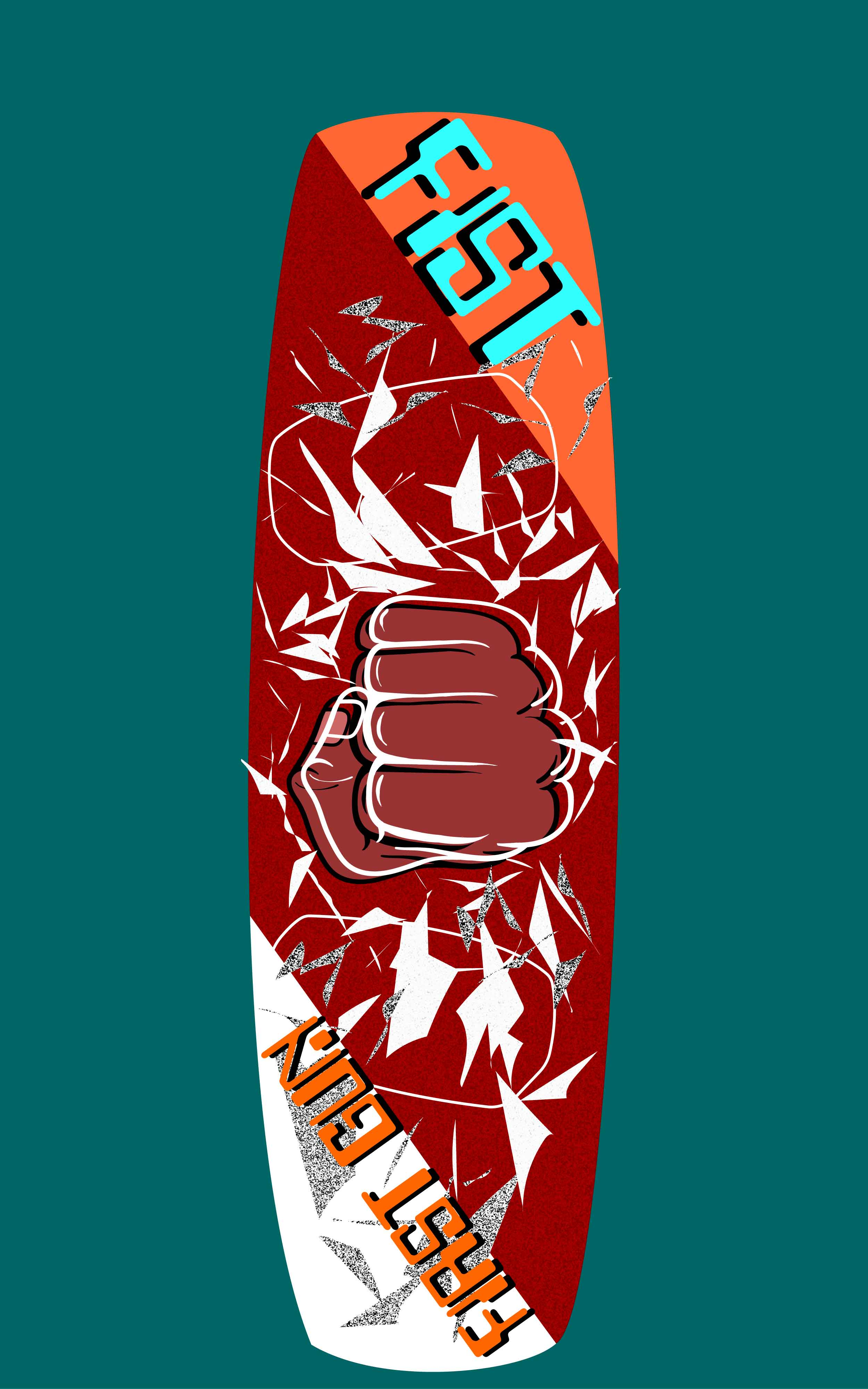 Дизайн принта досок для водных видов спорта (вейк, кайт ) фото f_8815874902716f34.jpg