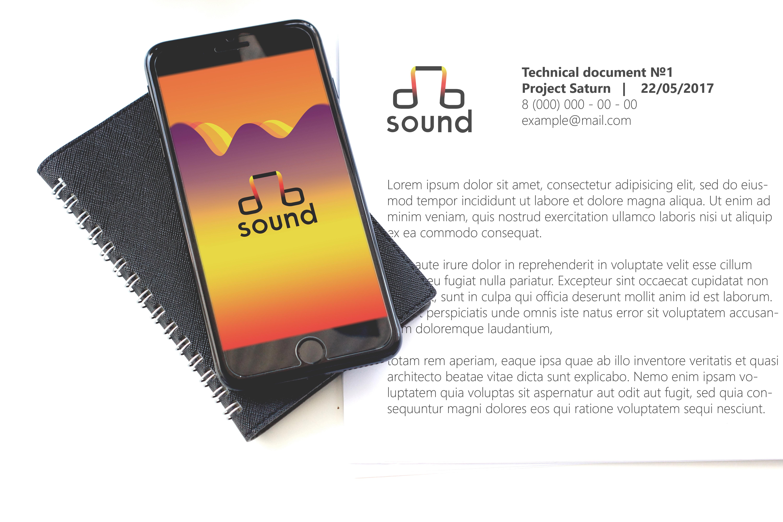 Создание логотипа для компании dB Sound фото f_74059baedd4c305d.jpg