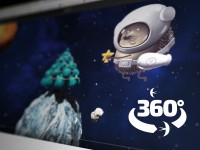 С Новым Годом! Поздравление в формате видео 360°