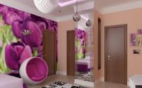 Детская комната в оттенках фуксии