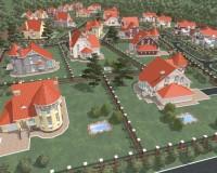 Анимация для презентации коттеджного поселка