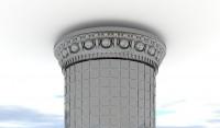 3D моделирование для индивидуального изготовления декоративной лепнины