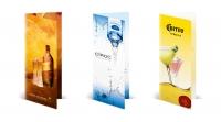 Серия буклетов для компании Diageo