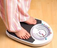 Избыточность веса (реклама препарата для похудения)