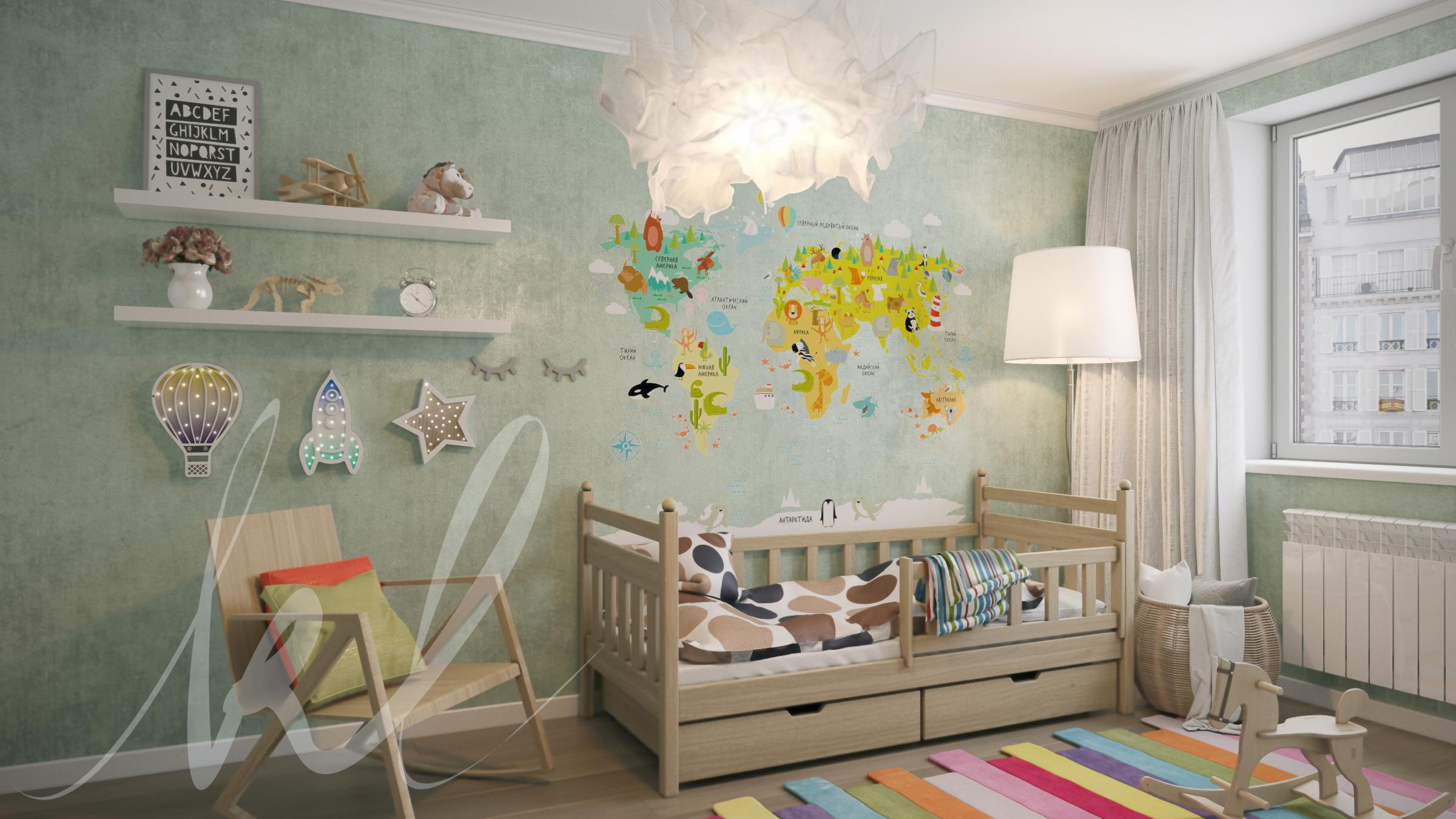 Дизайн и визуализация детской