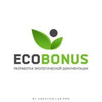 Логотип экологической компании Экобонус