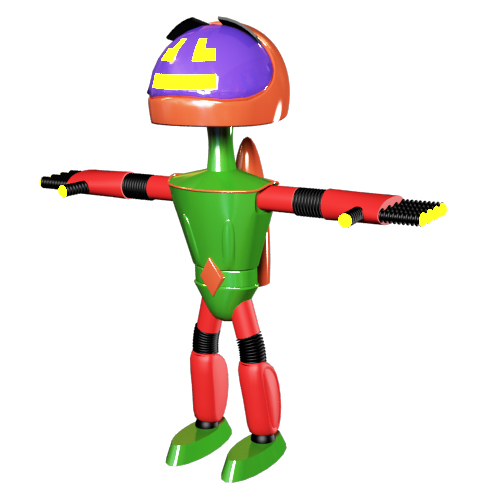 "Модель Робота - Ребёнка ""Роботёнок"" фото f_4b7d25d3b47a9.jpg"