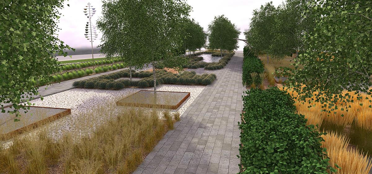 Проект по благоустройству  участка дворовой территории фото f_2735bbe1a4e9d0cf.jpg