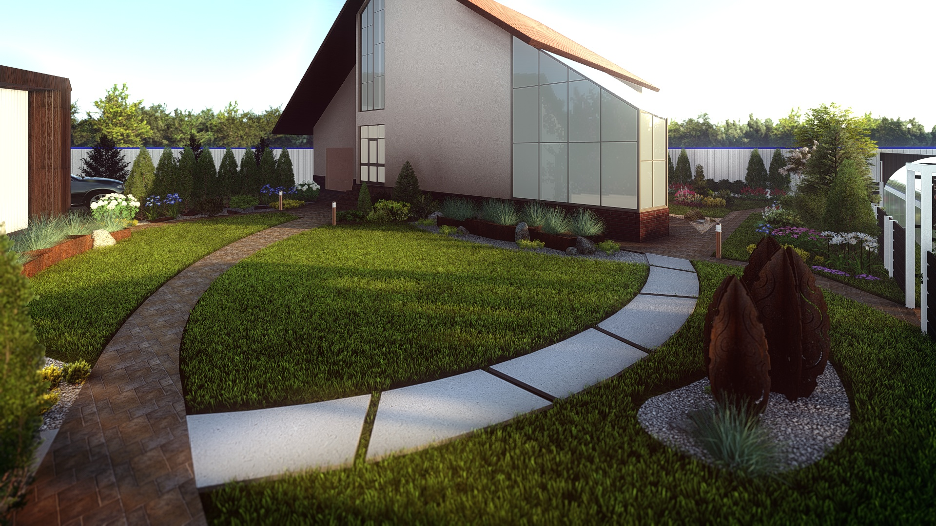 Проект по благоустройству  участка дворовой территории фото f_2875bbe1aeb27e34.jpg