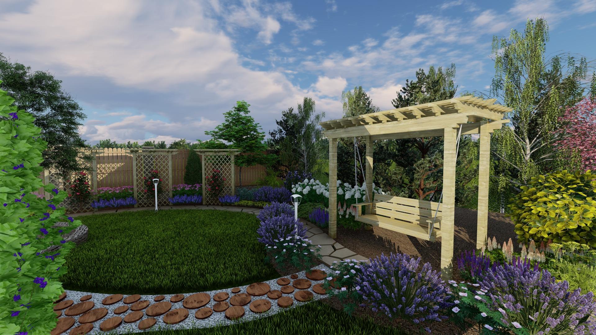 Проект по благоустройству  участка дворовой территории фото f_6615bbe19644e417.jpg
