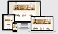 Адаптивная верстка - интернет-магазин  Плетеная мебель и предметы интерьера