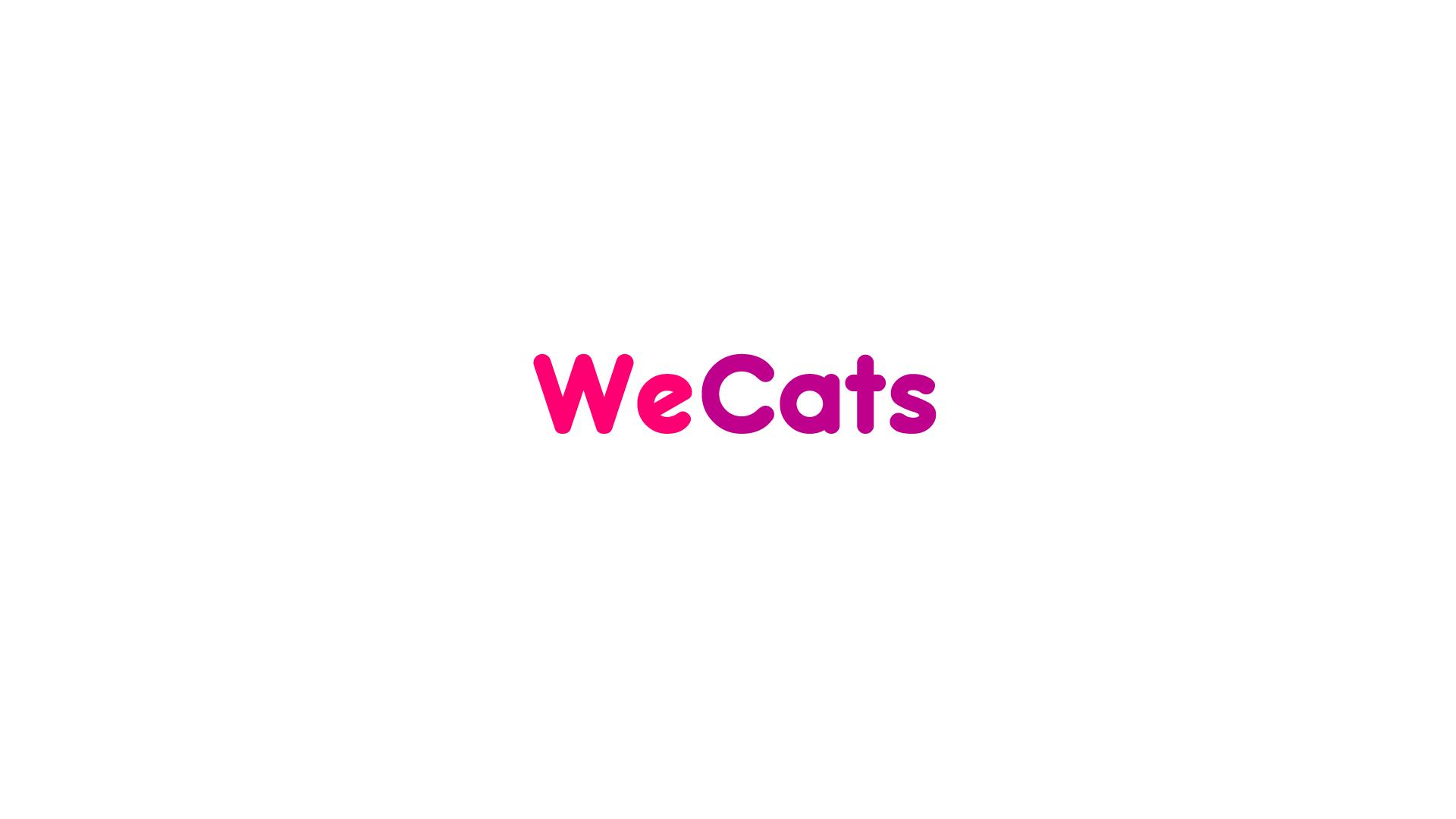 Создание логотипа WeCats фото f_1835f1dc558c94e4.jpg