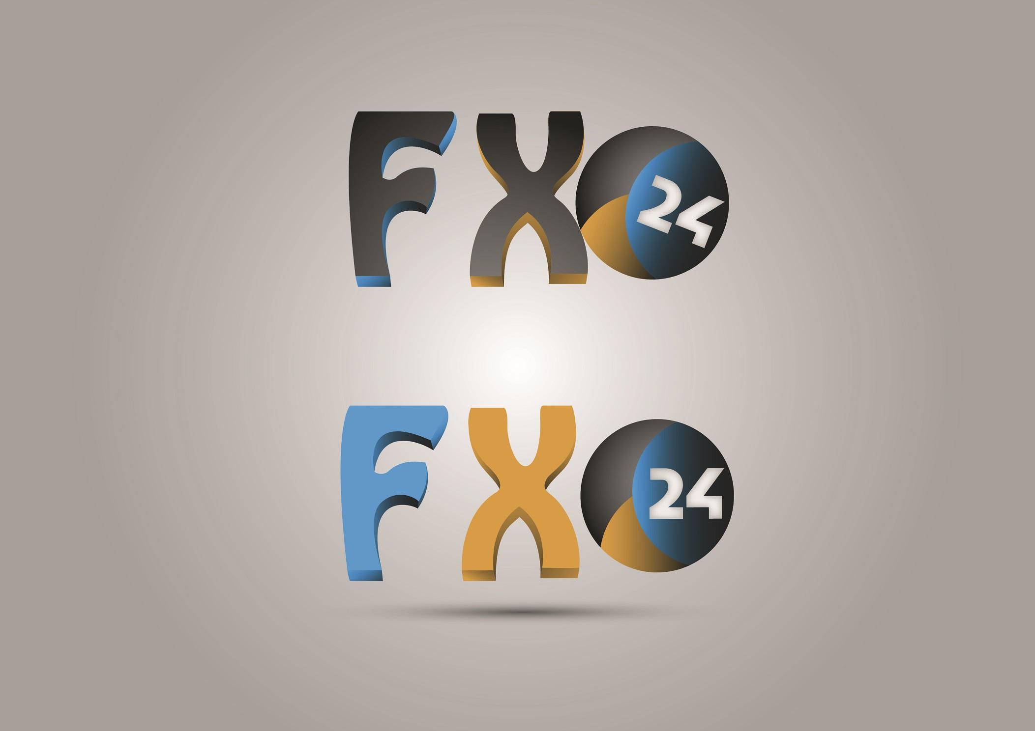 Разработка логотипа компании FX-24 фото f_5605453f5b92be6f.jpg