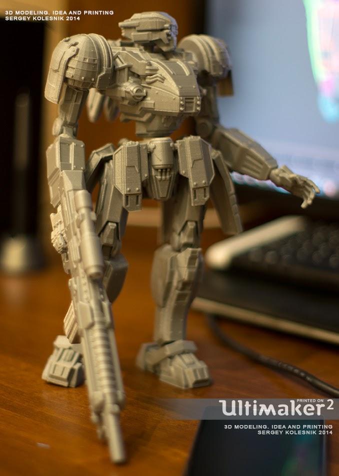 Стрекоза боевой робот