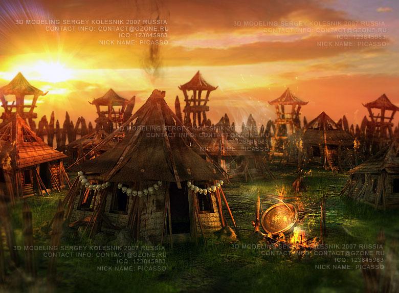 лагерь орков