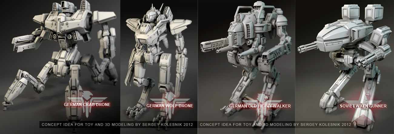 mechs concept ideas