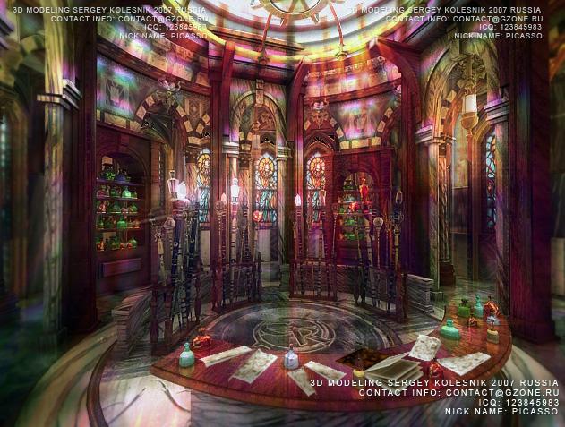 магическая лавка арт к игре