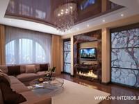 Дизайн интерьера квартир, домов, коттеджей, таунхаусов.