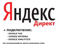 Создание и ведение рекламной (4 недели) компании в Яндекс Директ