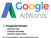 Создание и ведение рекламной (4 недели) компании в google adwords