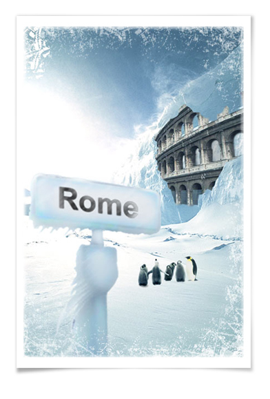 Постер «Оледенение»