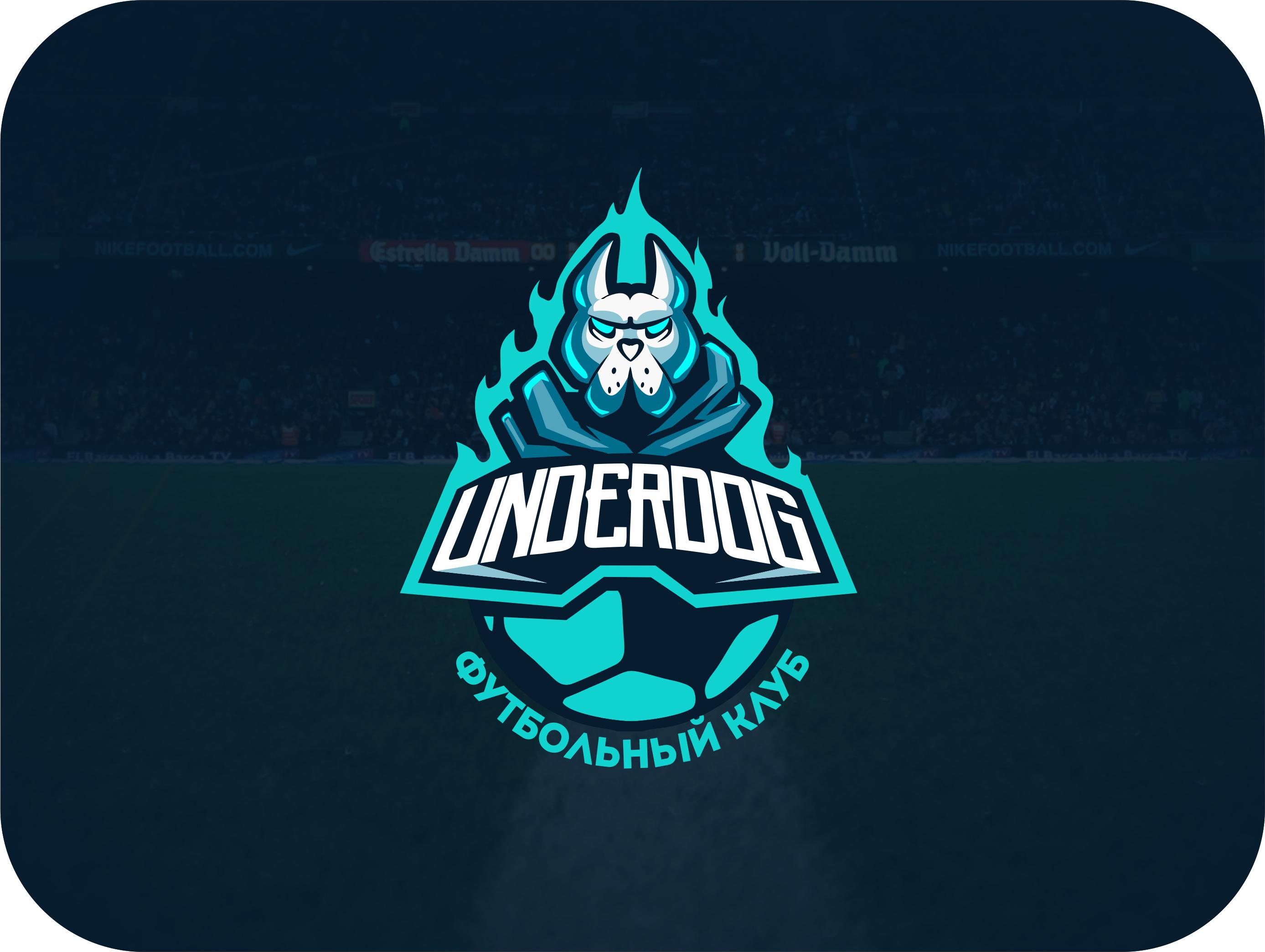 Футбольный клуб UNDERDOG - разработать фирстиль и бренд-бук фото f_6045cb0d0ccef896.jpg
