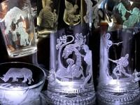 Ручная гравировка стекла, это красиво, бокалы, графины,... Стекло,  оно...