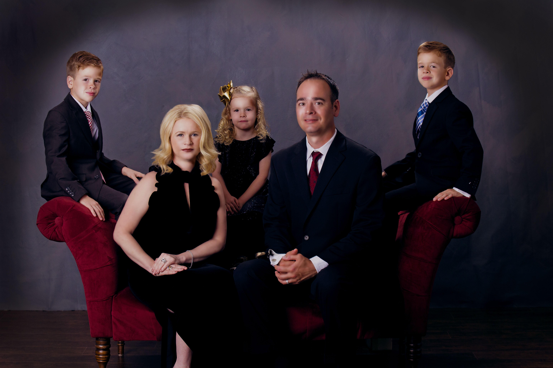 Семейная ретушь
