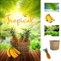 Коллаж «Tropical»