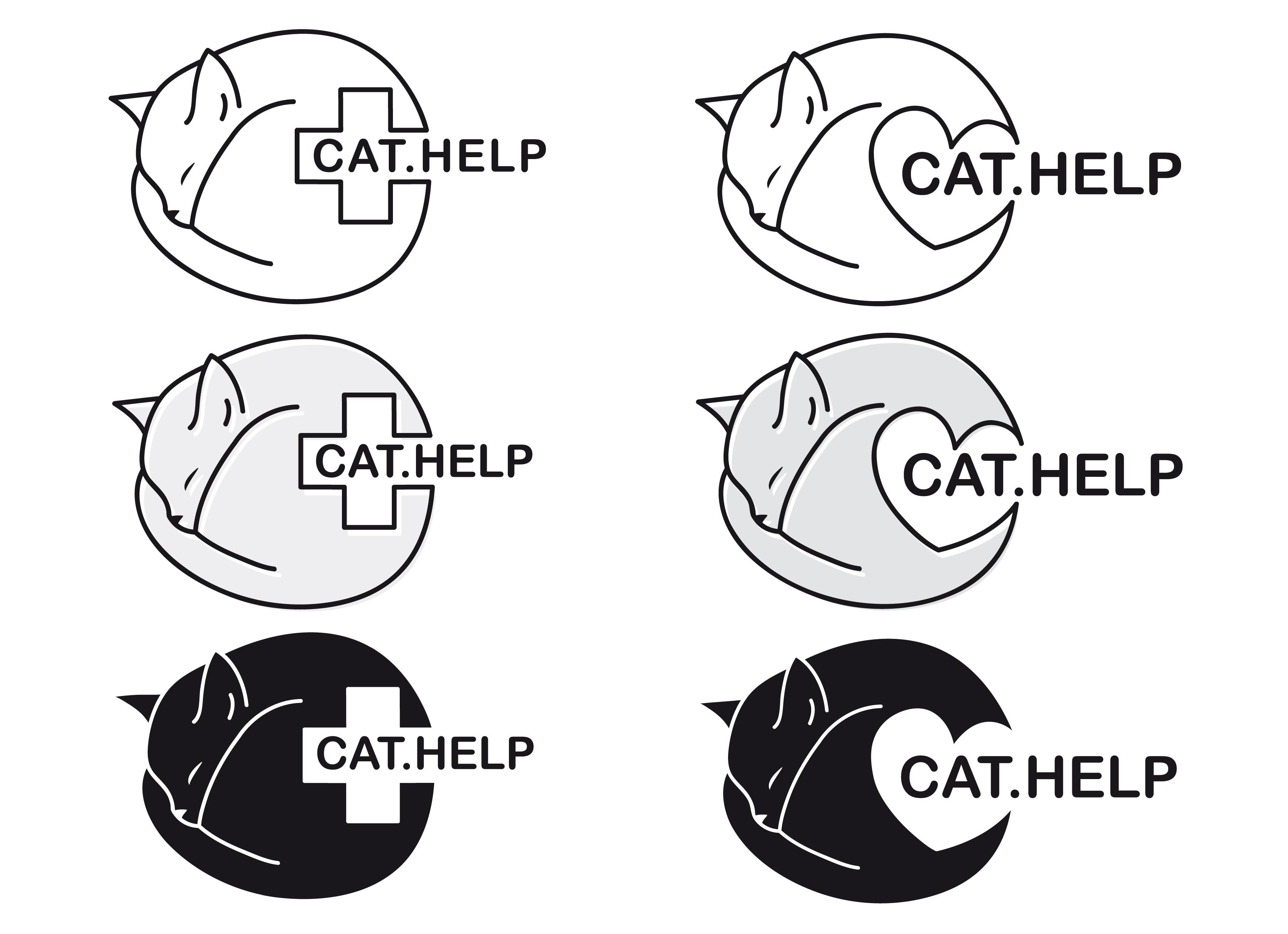 логотип для сайта и группы вк - cat.help фото f_20159dc8ce9b4933.jpg