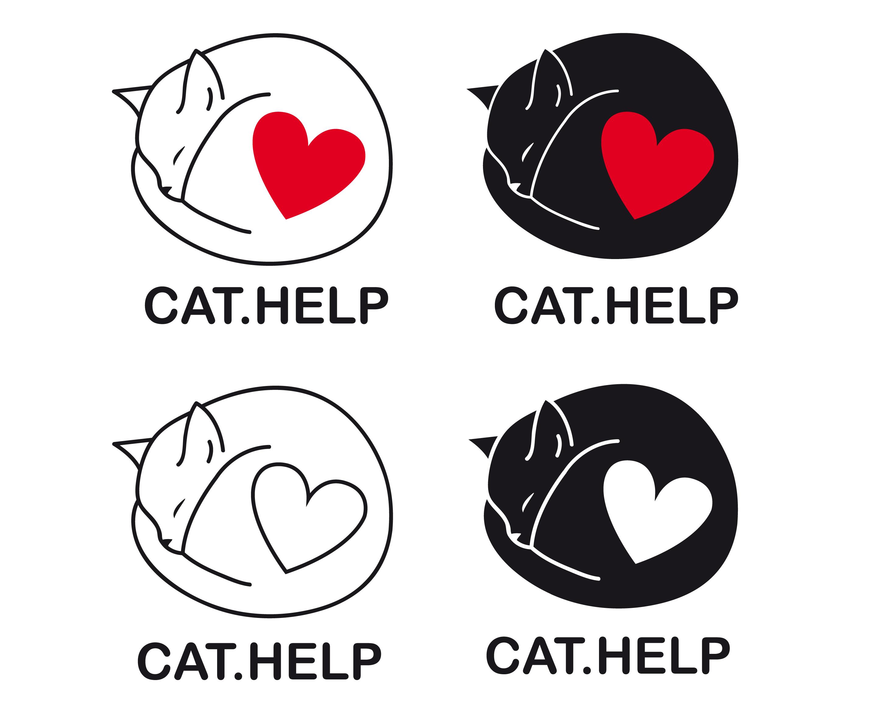 логотип для сайта и группы вк - cat.help фото f_50759dc8d1bda6ac.jpg