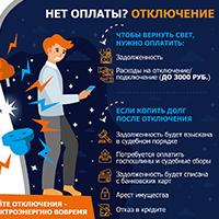Инфографика оплата электроэнергии
