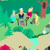 Карта для детской игры о гигиене