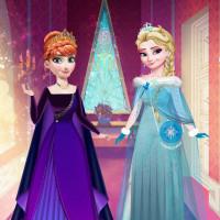Эльза и Анна, пероснажи и фоны для игры
