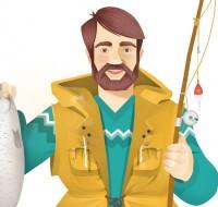 Персонажи для сайта о национальных кухнях и развлечениях